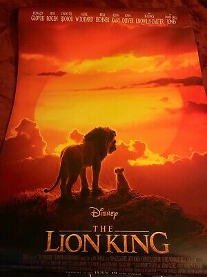 The Lion King 27x40 Original D/S Movie Poster Final One Sheet Promo Rare Beyonce