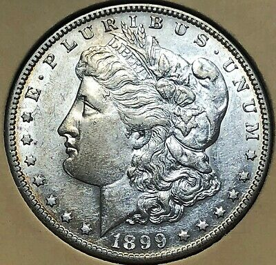 1899-S GEMMY Morgan LIBERTY Silver Dollar $1 UNCIRCULATED free s/h No Reserve!