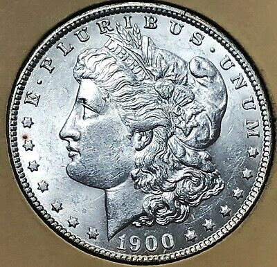 1900 GEMMY Morgan LIBERTY Silver Dollar $1 UNCIRCULATED free s/h No Reserve!