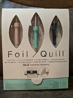 We R Memory Keepers Foil Quill Starter Kit with 3 Pens - BRAND NEW 2019