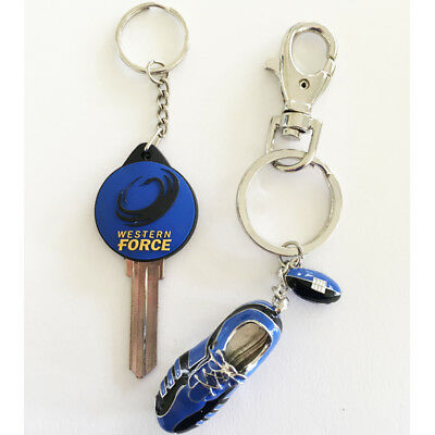 Western Force Front Door Key STYLE LW5 & Boot Key Ring Set