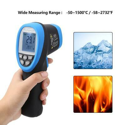 Mini Double Laser Digital LCD Infrared Thermometer Measuring instrument HP-1500