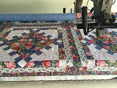 Statler Stitcher Longarm Quilting Service full/ double quilt 80 x 88