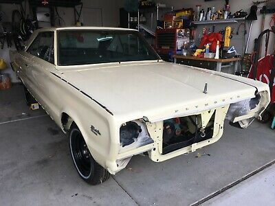 1966 Plymouth Satellite  1966 Plymouth Satellite (Project Car)