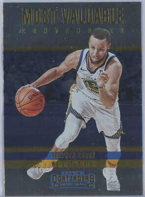 2018-19 Panini Contenders Most Valuable Contenders #2 Stephen Curry