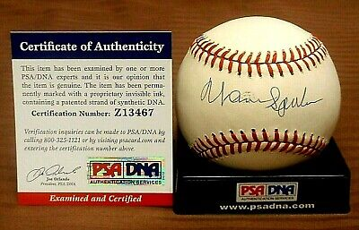 Competent New York Yankees Hof Joe Torre Signed Omlb Baseball Jsa Cert Free Shipping Cheap Sales Autographs-original