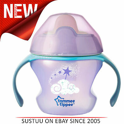 Tommee Tippee Weaning Sippee Cup Baby Girl│BPA Free│Non Spill│Soft Spout│For 4m+