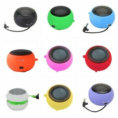 Mini Portable Speaker Amplifier For iPod iPad Laptop iPhone Tablet Smartphone PC