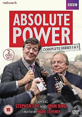 ABSOLUTE POWER Complete, Series 1 & 2 (2003) Region 2 PAL DVDs only! Stephen Fry