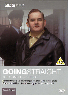 GOING STRAIGHT  BBC Series R2 PAL DVD New Ronnie Barker
