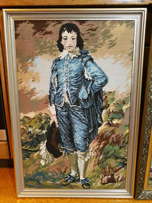 """Tapestry of """"The Blue boy"""" Thomas Gainsborough"""