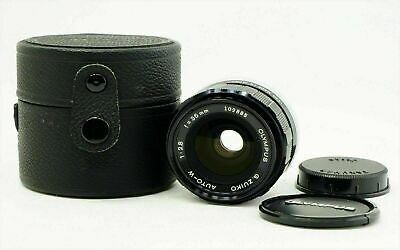 Olympus G Zuiko Auto-W 35mm f2.8 Wide Angle MF Lens 35 2.8 Japan Excellent