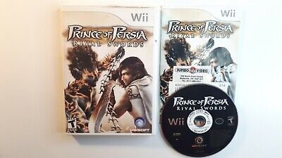 Prince of Persia: Rival Swords - Nintendo  Wii Game COMPLETE- FAST FREE SHIPPING