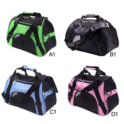Portable Large Pet Carrier Soft Sided Cat/Dog Travel Tote Bag Airline Approved