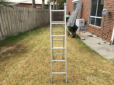 Ladder Used 1.7 mt Small Step Ladder Aluminium Good Condition
