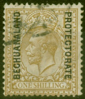 Bechuanaland 1923 1s Bistre-Brown SG82a Fine Used