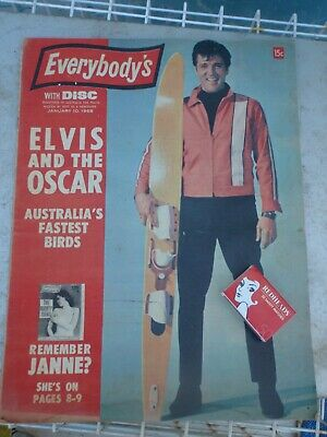 Elvis, Russel Morris, The Who,  Everybody's   Magazine 1968