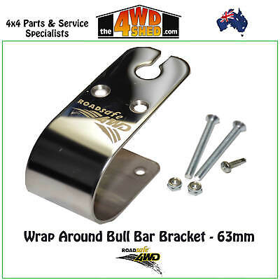 Roadsafe 4WD Bull Bar Bracket Wrap Around 63mm SB021