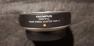 Olympus MMF-2 four-thirds to micro four-thirds adapter