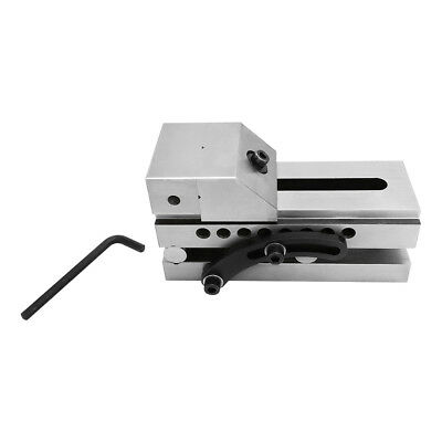 """3'' Precision Sine Vise 4-3/8"""" Opening Toolmaker Machinist Tookmaking Clamp Vise"""