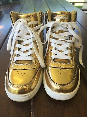 Heelys Roller Shoes - Worn once - Gold