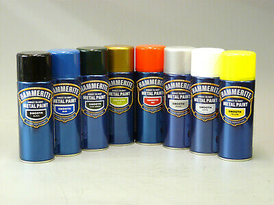 Hammerite Direct to Metal Spray Paint 400ml Aerosol All Colours & Finishes