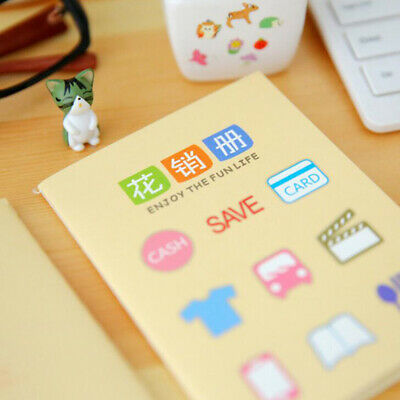 Notebook Journal Diary Writing Paper Pocket Stationary Composition Mini Book 6A