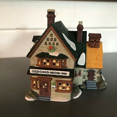 Dept 56 Heritage Village Dickens Village Series Giggelswick Mutton & Ham #5822-0