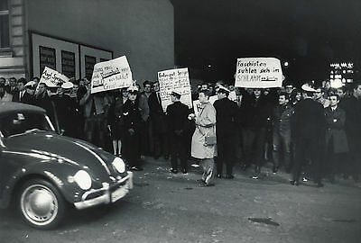 Manifestations Contre Axel Springer Hambourg 1967-