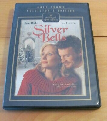 Silver Bells DVD USED! Gold Crown Hallmark Anne Heche FREE SHIPPING