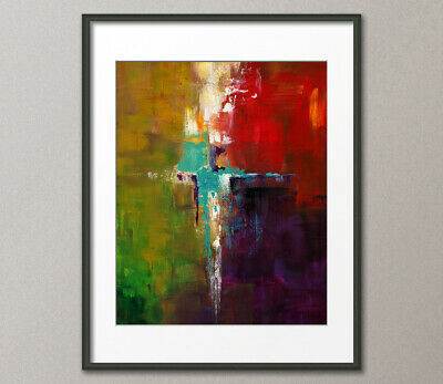 Gallery Canvas & Art Prints Red Nemesis Abstract Contemporary Painting Modern