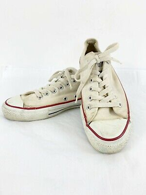 ca555c87e27689 Vintage Converse All Stars USA Low Top Sneakers Size 6 M Off White Chuck  Taylor