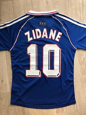 Maillot Zidane 1998 Taille S