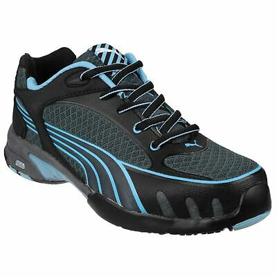 Puma Safety Fuse Motion Womens Blue Trainers Safety Breathable FUSE.TEC S1