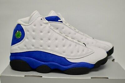 cheap for discount e6dd9 0191d Men s Nike Air Jordan 13 Retro Hyper Royal Athletic Fashion Sneakers 414571  117