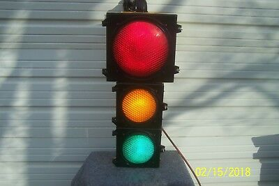 "12"" With Two 8 ""  Traffic Signal Stop Light"