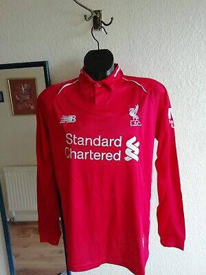Liverpool Fc 2018/19 Home Long Sleeved Shirt & Shorts Uk L New With Tags
