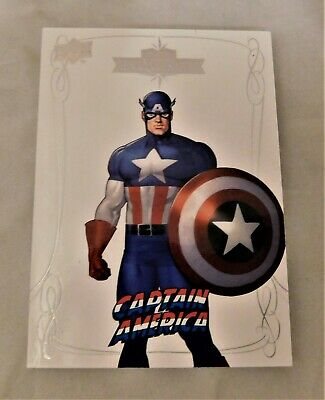 2016 Upper Deck Marvel Gems Exquisite Card #39 Captain AMerica #20/50 SP