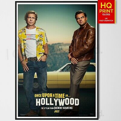 Once Upon A Time in Hollywood Margot Robbie Character Movie PosterA4 A3 A2 A1