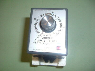 Omron................. Nh2-Us Timer. 110Vac Plug In Type New Suppliers  Packaged