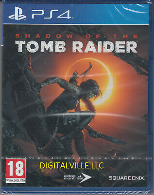 Shadow of the Tomb Raider PS4 PlayStation 4 Brand New Factory Sealed
