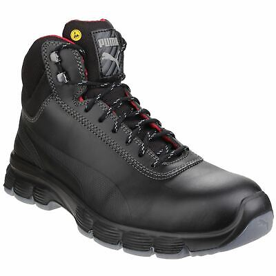Puma Safety Pioneer Mid Black Boots Safety Leather S3