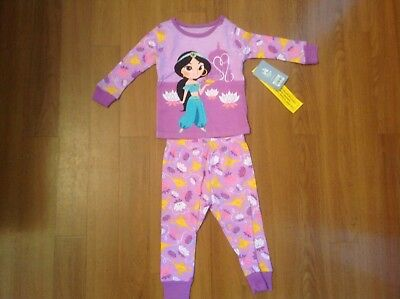 da3a8d1d6 Authentic Disney Store Disney Store Jasmine Organic PJ Pals for Baby Girl  12-18M