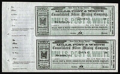 186_ Austin, Nevada: 2x Mills, Post & White Consolidated Silver Mining Co