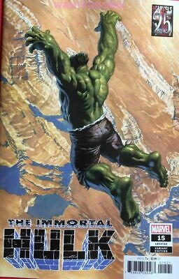 IMMORTAL HULK #15 ALEX ROSS VARIANT COVER  25th OUT MARVEL COMIC BOOK NEW 1 2019