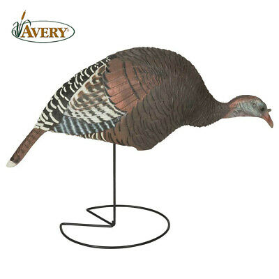 Avery Pro-Grade Bonnie /& Clyde Upright Jake /& Laydown Hen Merriam Turkey Decoy