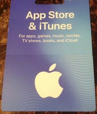$20 Apple App store and Itunes Gift Card
