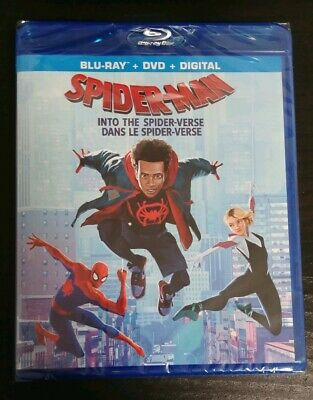 Spider-Man: Into The Spider-Verse (Bilingual) - Blu-ray/DVD/Digit