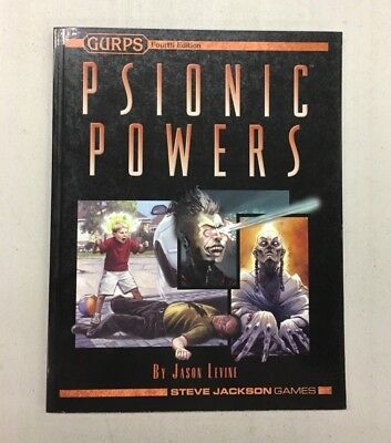 GURPS 4TH EDITION: Psionic Powers Sourcebook