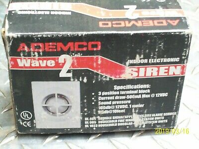 Ademco Wave 2 Indoor Electronic Siren